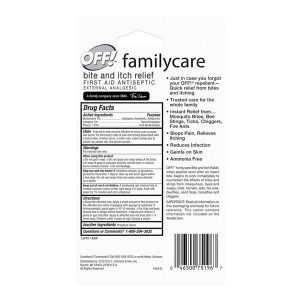 Off Family Care Bite and Itch Relief