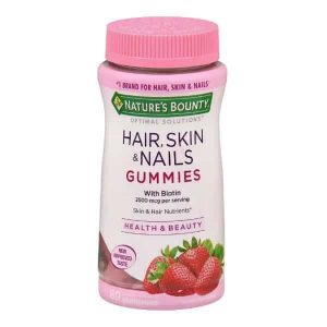 Hair Skin E Nails Gummies Com 80