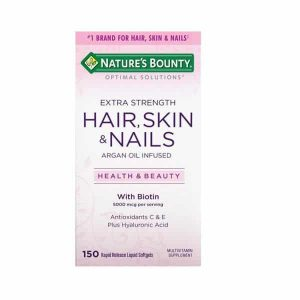 Hair Skin e Nails com 150 Softgels