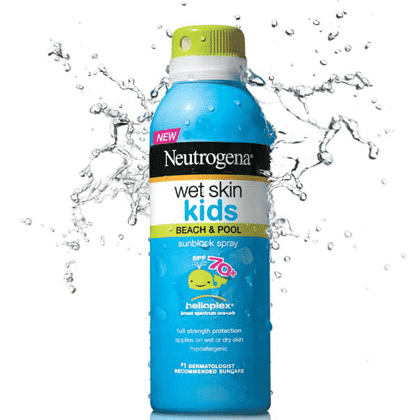 NEUTROGENA WET SKIN KIDS 70