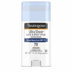 Neutrogena Ultrasheer Sunscreen Stick 70